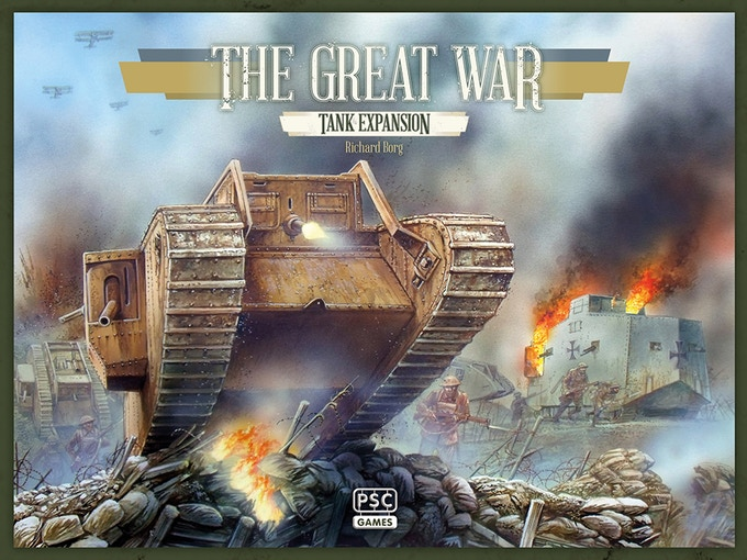Expansión Tanques de La Gran Guerra de maldito Games