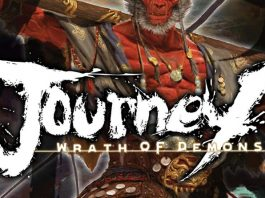 Logotipo de Journey: Wrath of Demons