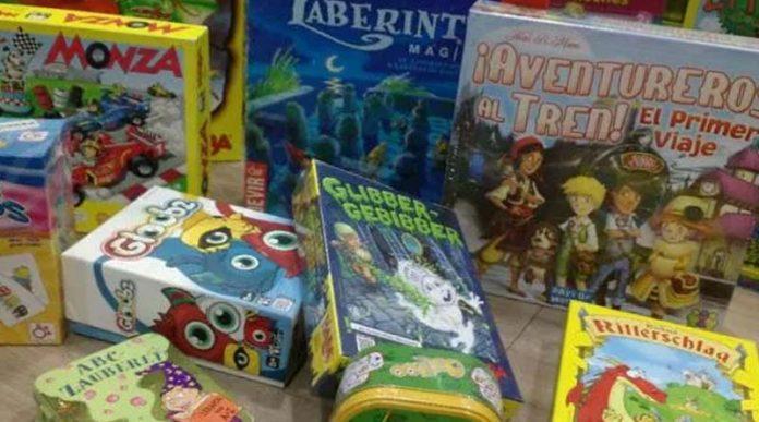 Algunos juegos de mesa para niños