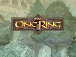 Logotipo del sistema de rol de Cubicle 7 The One Ring RPG