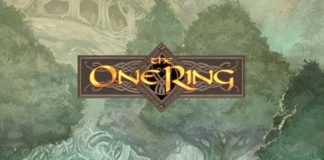 Logotipo del sistema de rol de Cubicle 7 The One Ring RPG