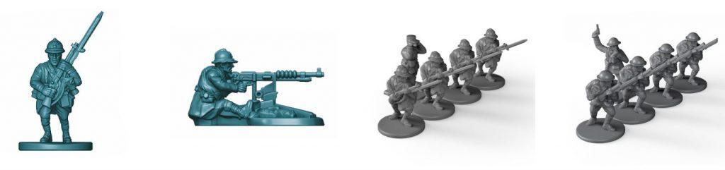 Miniaturas de La Gran Guerra de Maldito Games