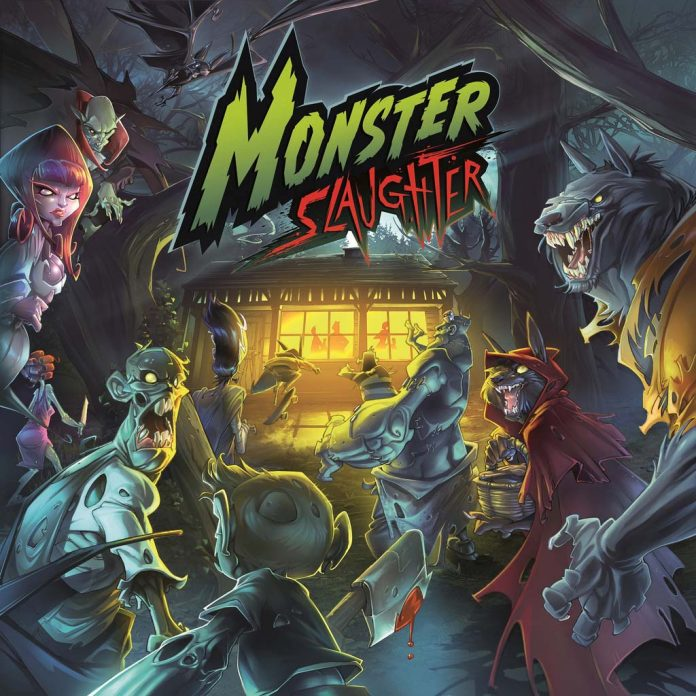 Portada de Monster Slaughter