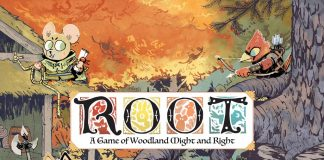 Portada del juego de mesa Root: A Game of Woodland Might and Right