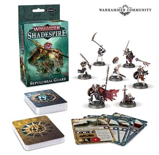 Expansión de la banda sepulcral para Warhammer Underworlds: Shadespire