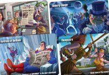 Cartas de Spyfall DC