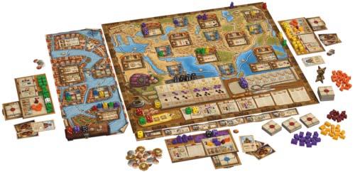 Componentes de Agentes de Venecia, la expansión de Los viajes de Marco Polo