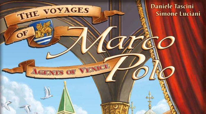 Logotipo de de Agentes de Venecia, la expansión de Los viajes de Marco Polo