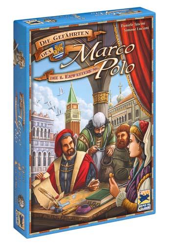 Portada de Agentes de Venecia, la expansión de Los viajes de Marco Polo
