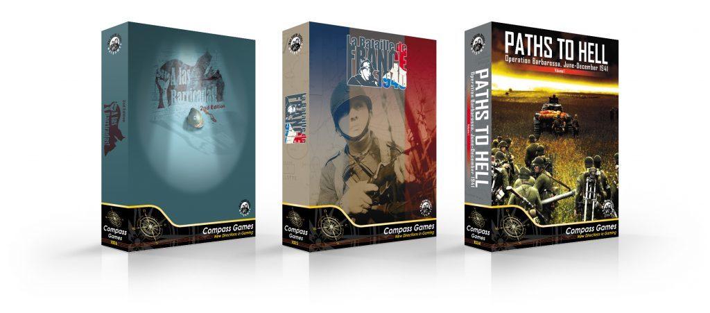 Cajas de los juegos Normandy de Draco Ideas