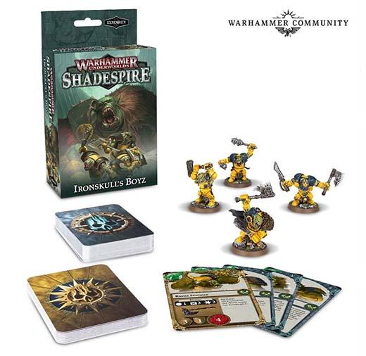 Expansión IronSkull Boyz para Warhammer Underworlds: Shadespire