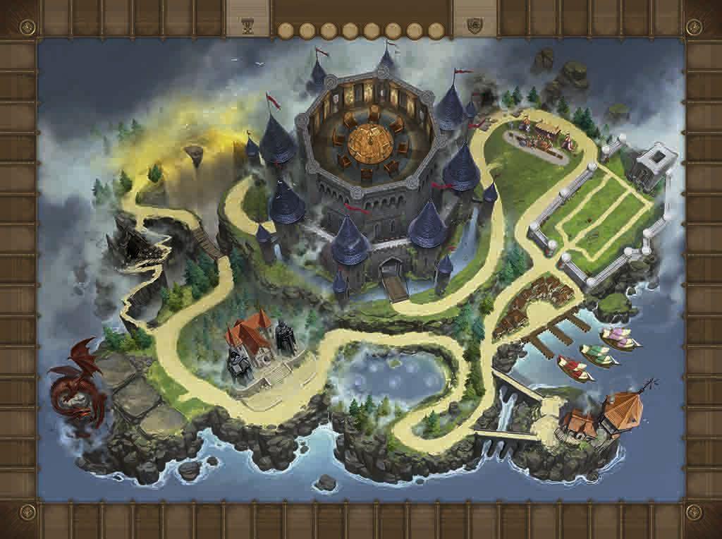 Tablero del juego Lancelot