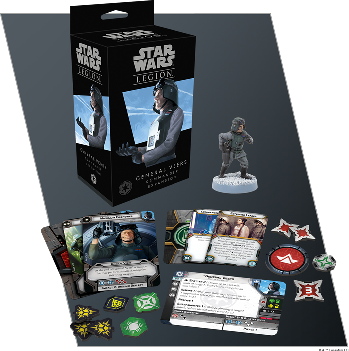 Pack Star Wars: Legions con general Veers