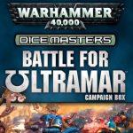 Portada de warhammer 40K Dice Masters Battle for Ultramar