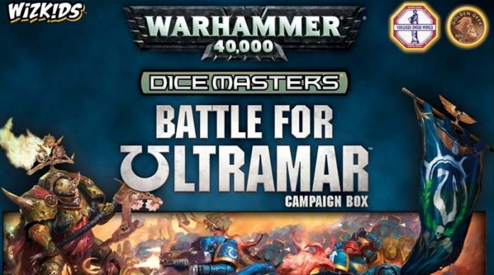 Portada de warhammer 40K Dice Masters Battle for Ultramar