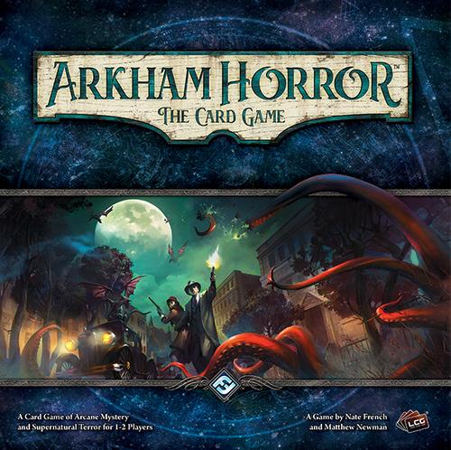 Portada de Arkham Horror: El juego de cartas