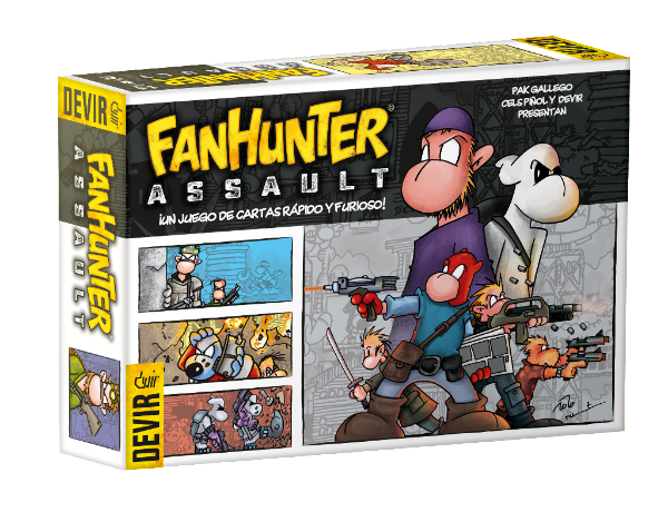 Caja de Fanhunter: Fanhunter Assault!