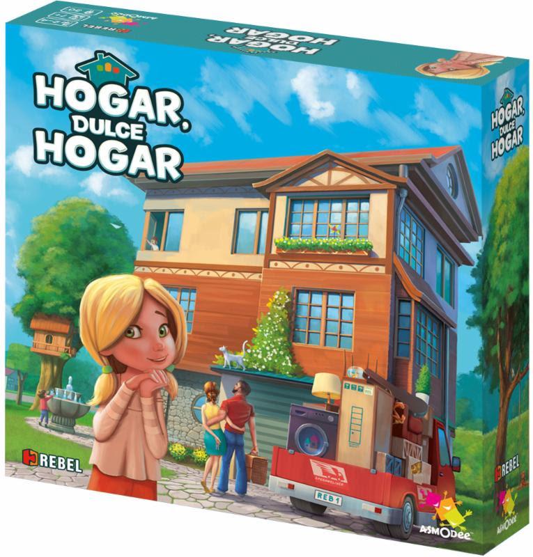 Juego de mesa Hogar, dulce hogar