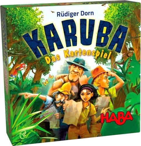 Portada de karuba, el juego de cartas