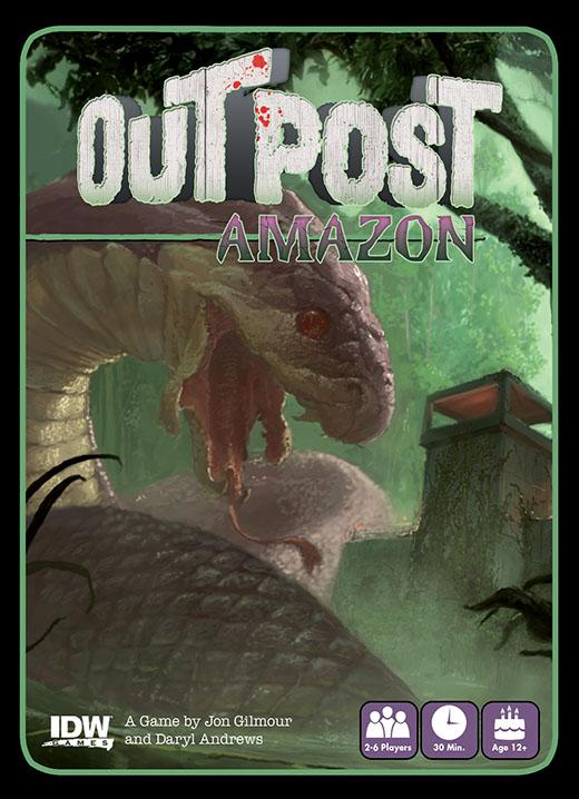 Outpost Amazon portada del juego