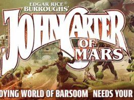 Fragmento de la portada del juego de rol de John Carter of Mars