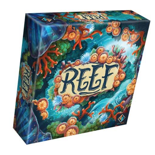 Portada de REEF el primer juego de Next Move Games