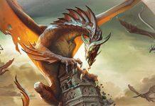 Detalle de la portada de Realms of terrinoth