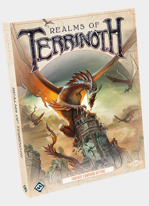 Portada de Realms of Terrinoth