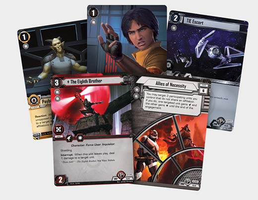 Cartas de promise of power pack