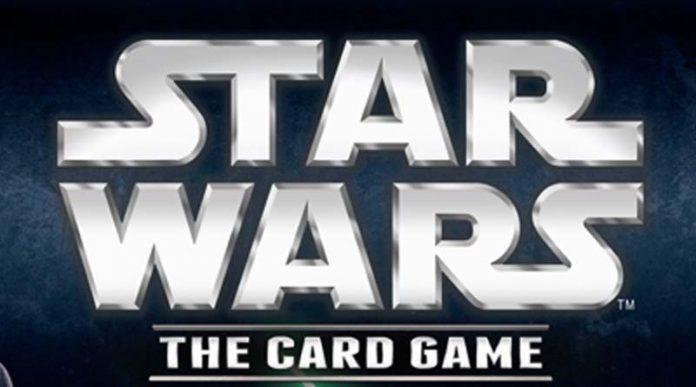 Logotipo de Star wars el juego de cartas