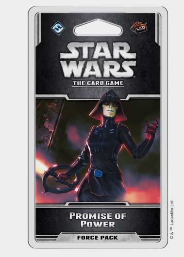promise pf power último pack de Star Wars el juego de cartas