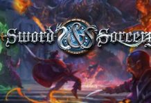 Logotipo de Sword and Sorcery Arcane Portal