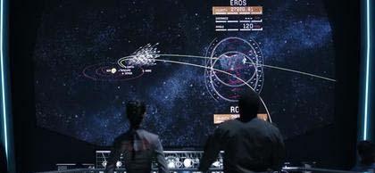Fotograma de la serie The Expanse