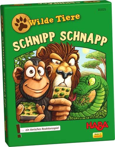 Portada de Wild Animals Schnipp Schnapp