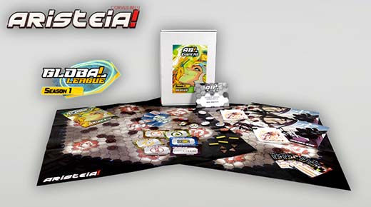 Contenido del kit de evento de Aristeia Global league