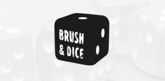 Logotipo de Brush & Dice