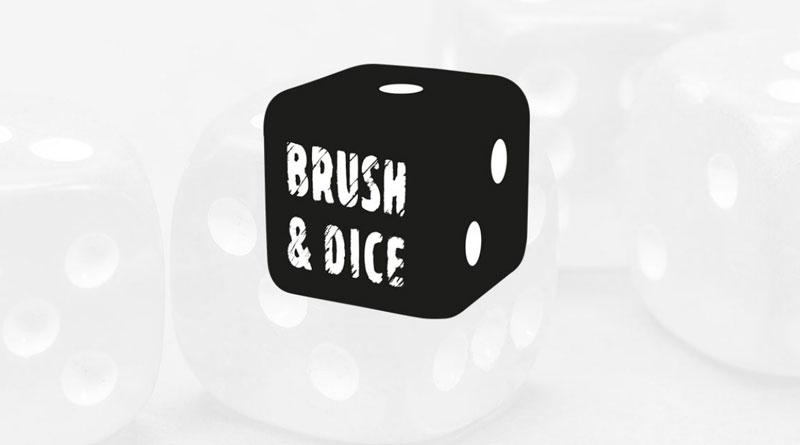 Logotipo de Brush & Dice