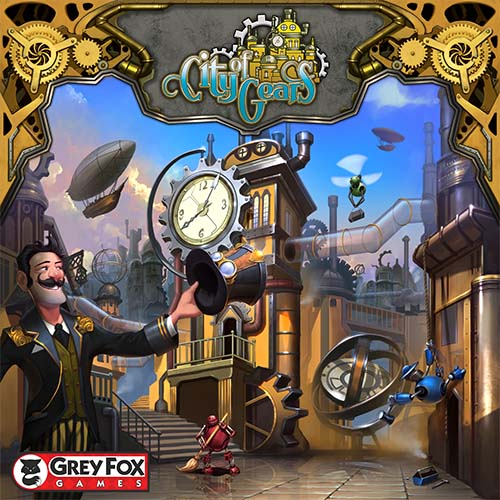 Portada de City of Gears