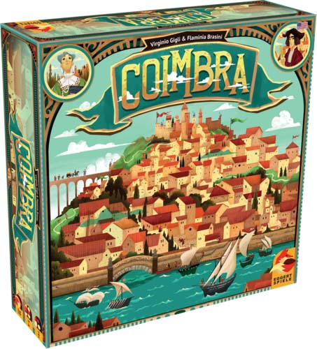 Caja provisional del juego de mesa Coimbra