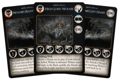 cartas de Final Boss de Dark Souls el juego de cartas