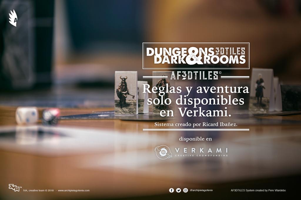 Publicidad de Dungeons&Darkrooms en Verkami