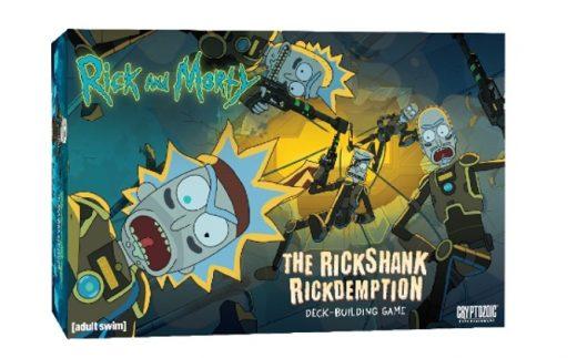 Portada de Rick and Morty: Rickshank Rickdemption Deck-Building