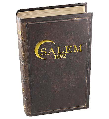 Portada del juego de cartas Salem 1692