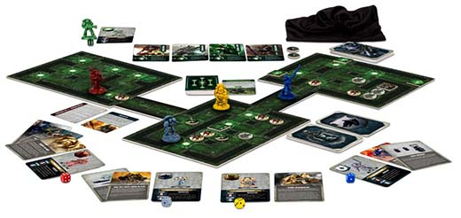 Componentes de Space Marine Adventures: Labyrinth of the Necrons