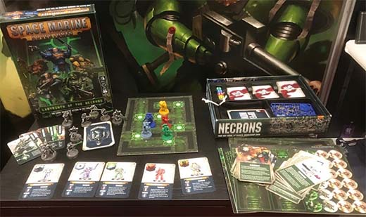Presentación de Space Marine Adventures: Labyrinth of the Necrons