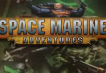 Logotipo de Space Marine Adventures: Labyrinth of the Necrons