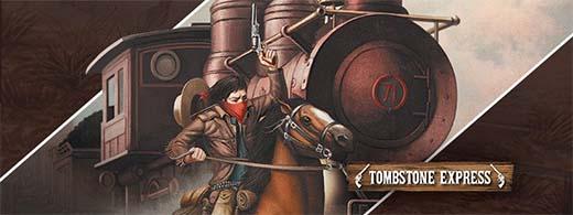 Fragmento de la portada de la expansión de Unlock Tombstone Express