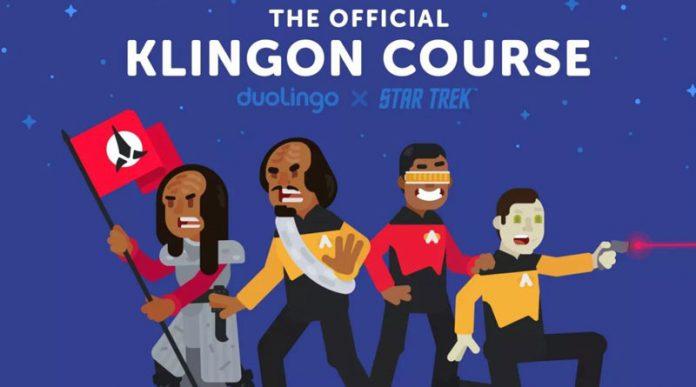 Aprender Klingon con Duolingo Star Trek