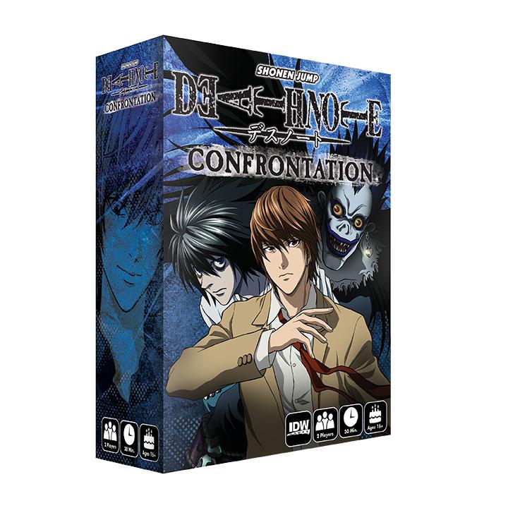Caja del juego Death Note: Confrontation