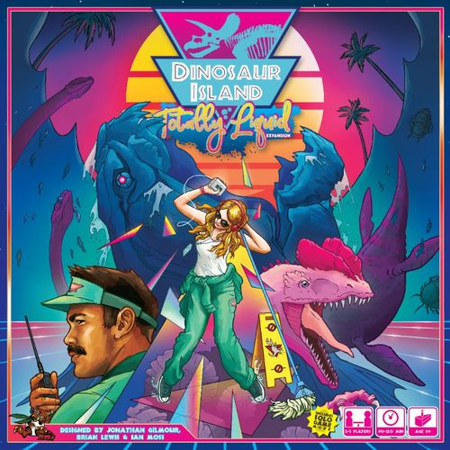 Portada de Dinosaur Island Totally Liquid
